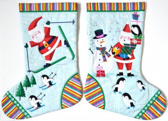 Jolly Santa 1960-1 Stocking