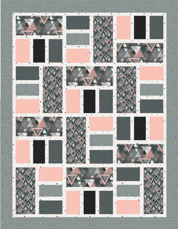 Cosmo Reflection Free Pattern by Northcott Studio