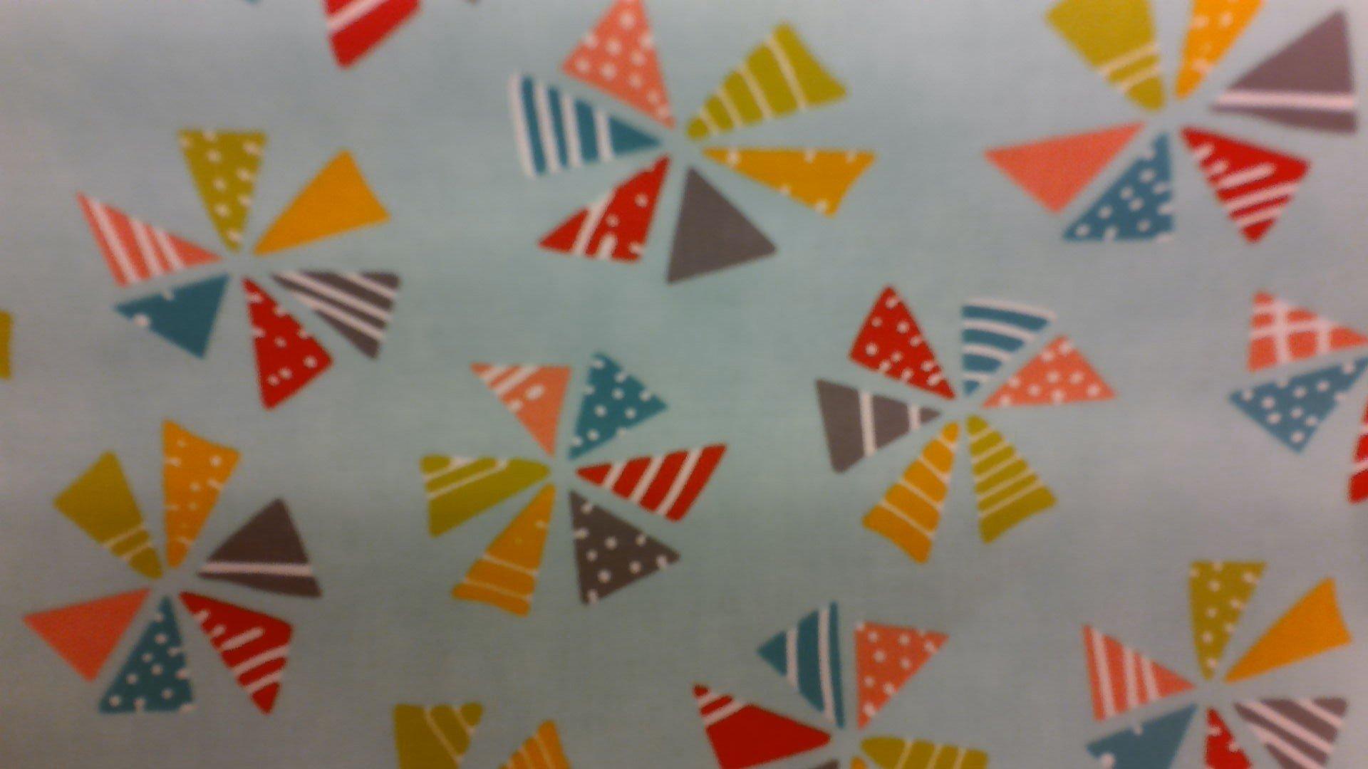 Laminated Market Bag Kit with pattern #04055