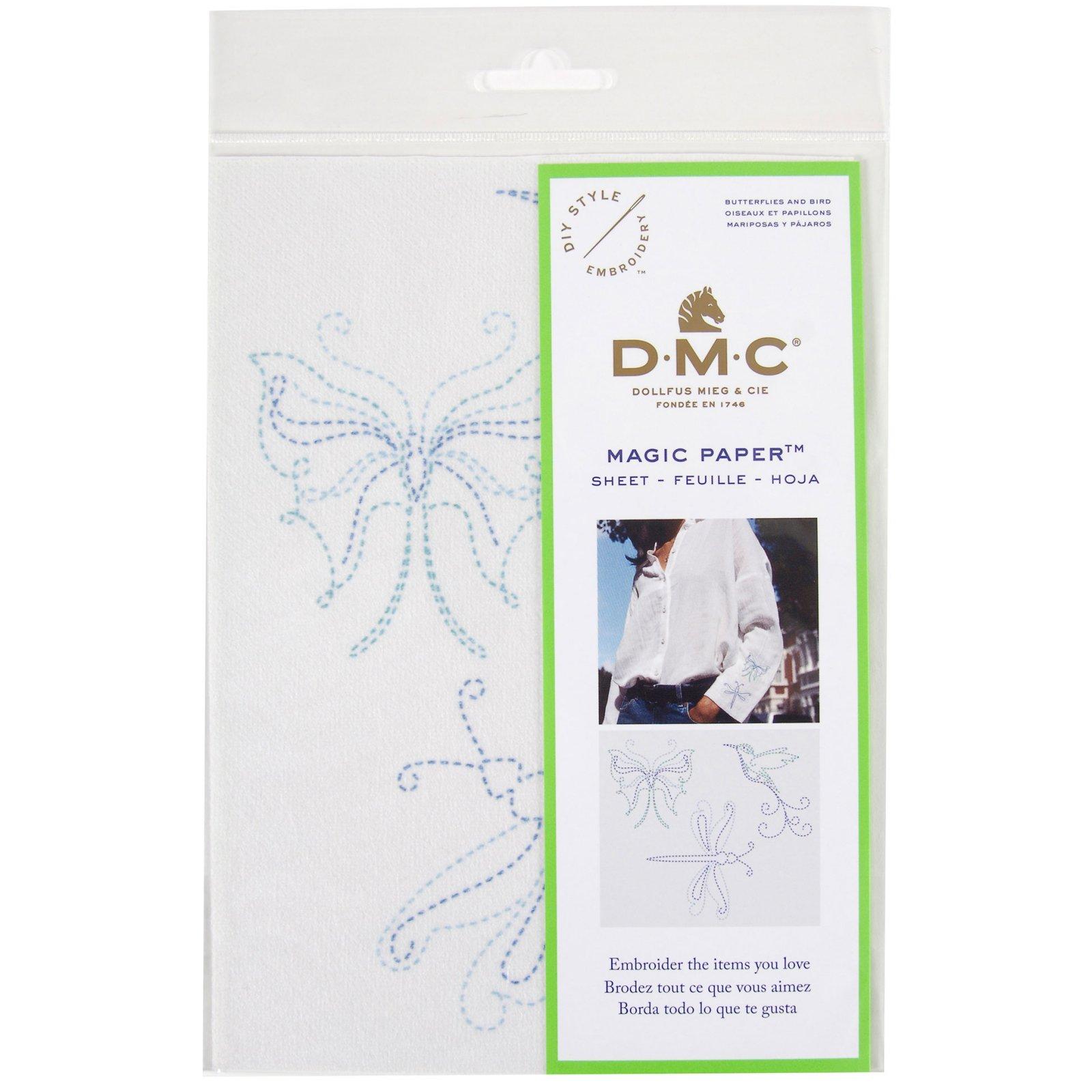 Magic Paper Cross Stitch- Butterflies & Birds