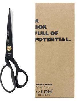 LDH Fabric Shears - Matte Black - 9 1/2