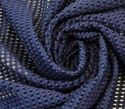 Navy Laundry Mesh Fabric/Veggie Bags