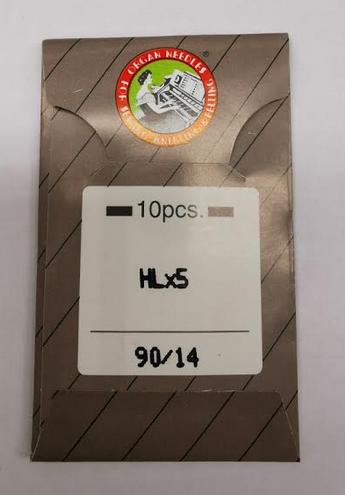 Organ HLX5 Needles Size 90/14 (10PK)
