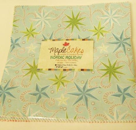 Nordic Holiday Maple Cake