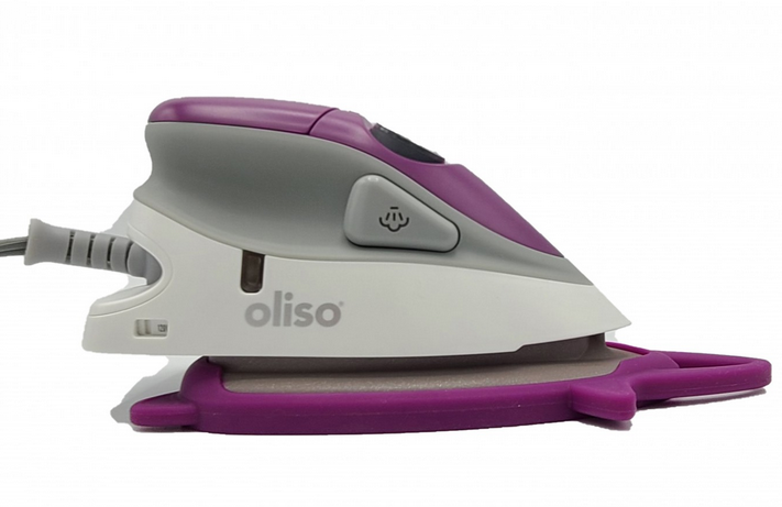 Oliso Mini Iron Purple With Trivet