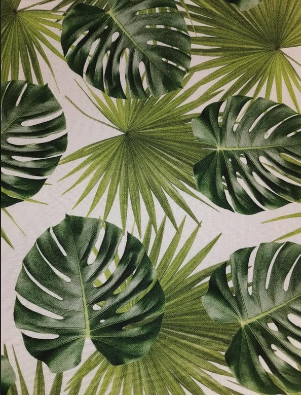 91.209-01 Jungle Leaf Canvas (21B)