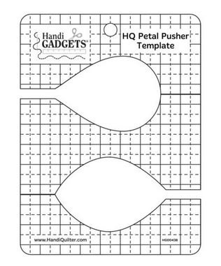 HQ Petal Pusher Template