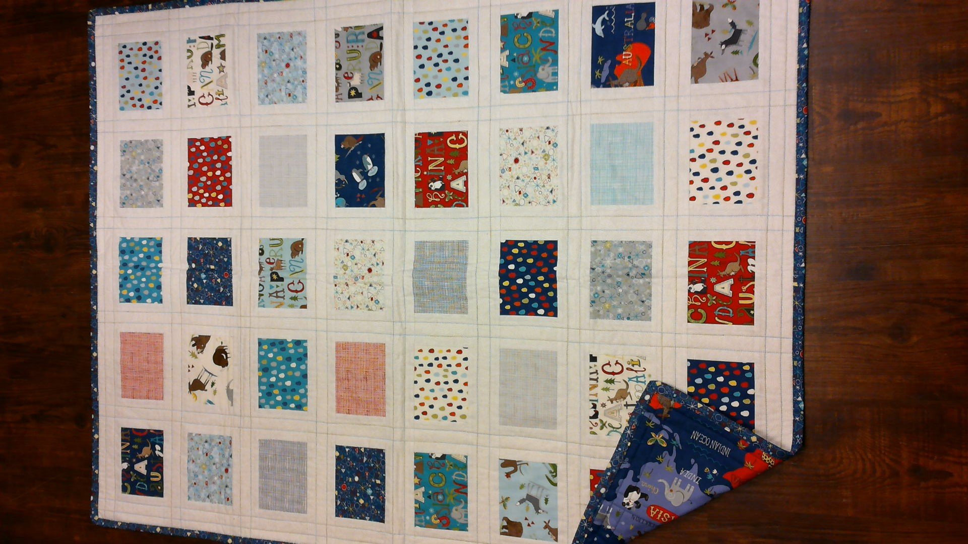 Post Card Quilt