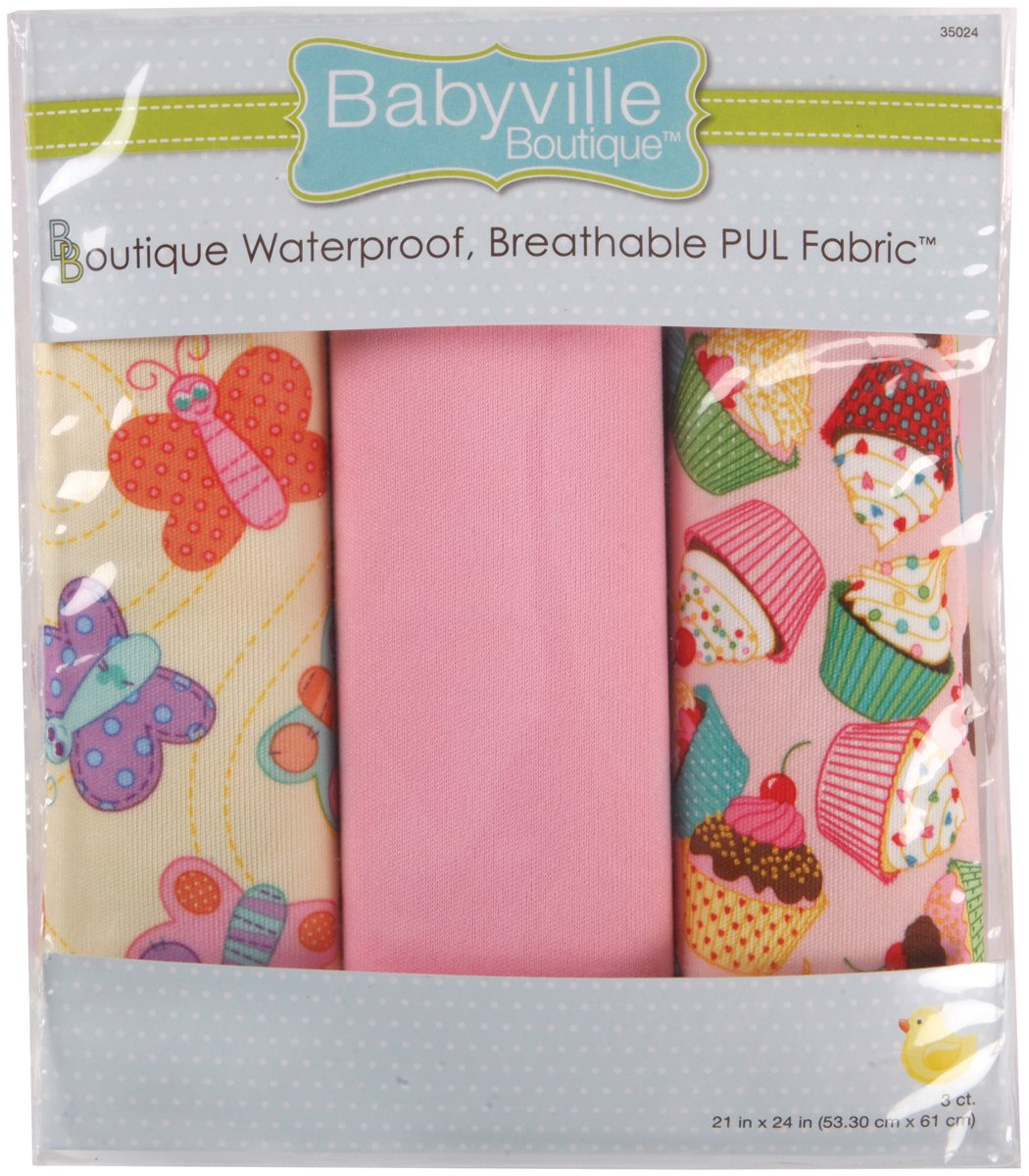 Babyville Boutique Sweet Girl 21in x 24in Laminated Cuts P - copy - copy