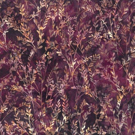 2317-561 Bali Batik- Bordeux (21A)