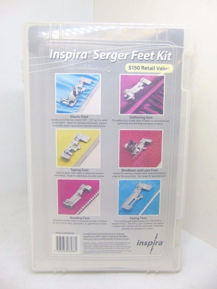 Inspira Serger Feet Kit
