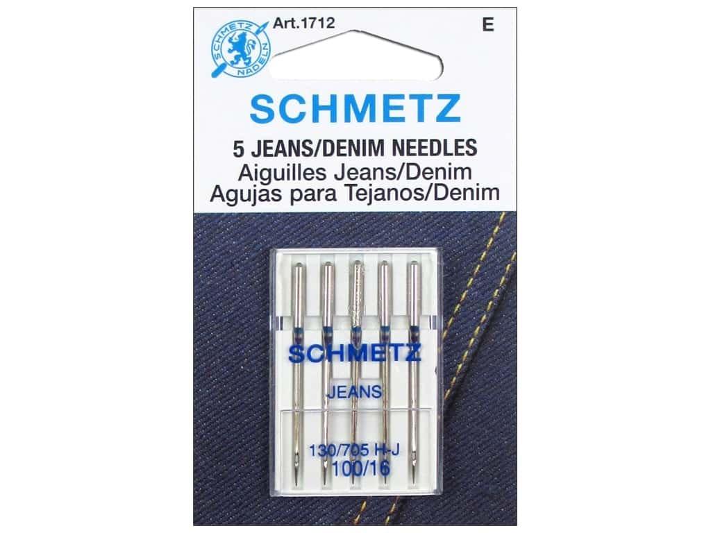 Schmetz Machine needle Jeans 100/16