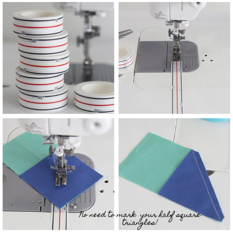 Diagonal Seam Tape By Cluck Cluck Sew
