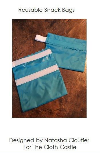 Reusable Snack Bag Pattern