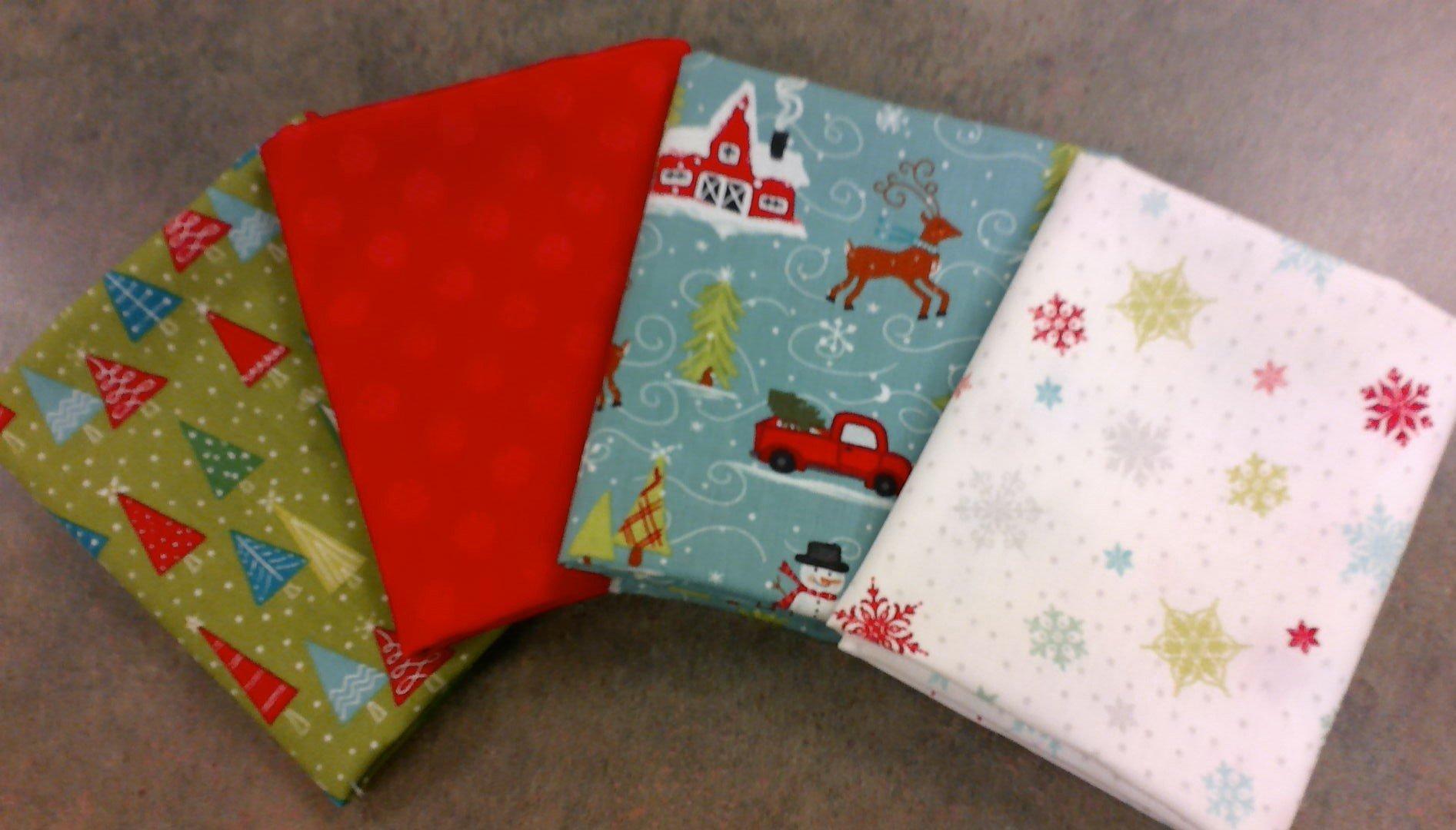Snowed In -  Christmas - Fat Quarter Bundle