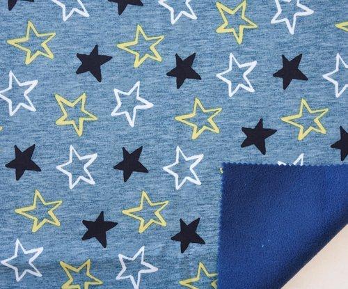 Soft Shell Stars Fleece Lined