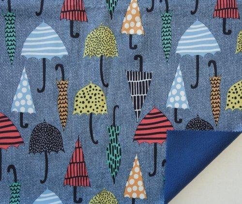 Soft Shell Umbrella Fleece Lined