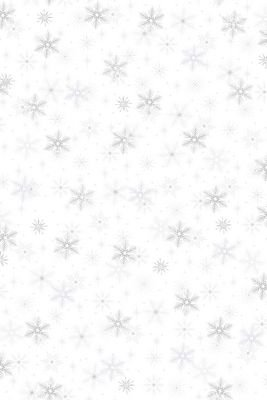 Magic Christmas Snow Crystals White Pearl