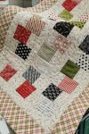 Stacked Charms Christmas Table Runner