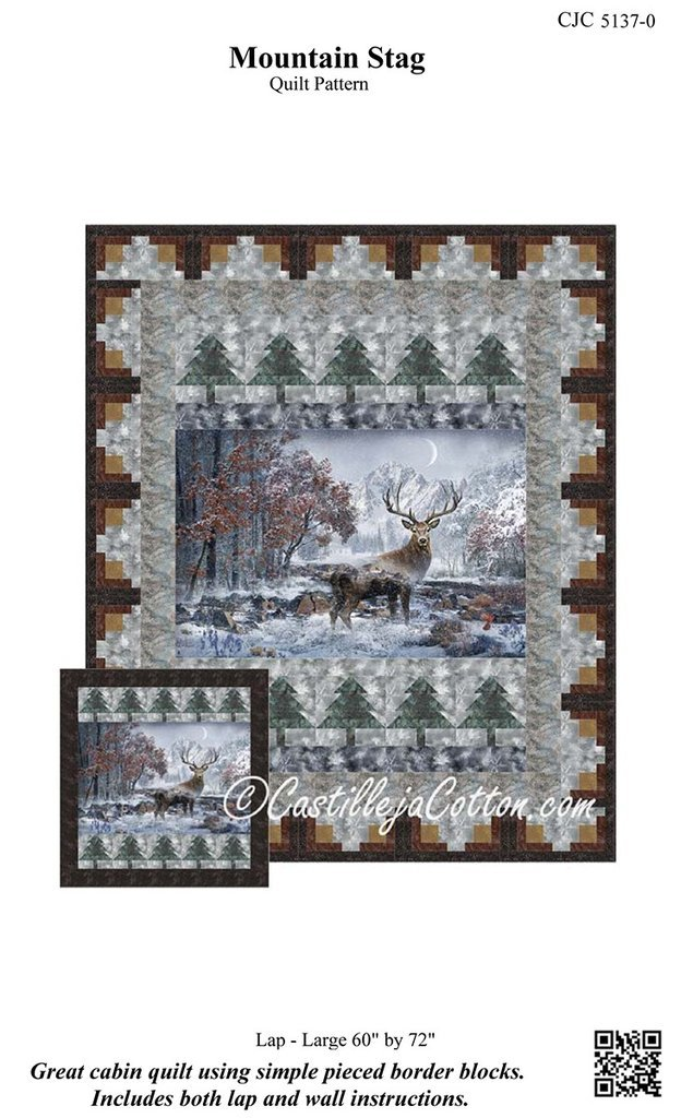 Mountain Stag Pattern