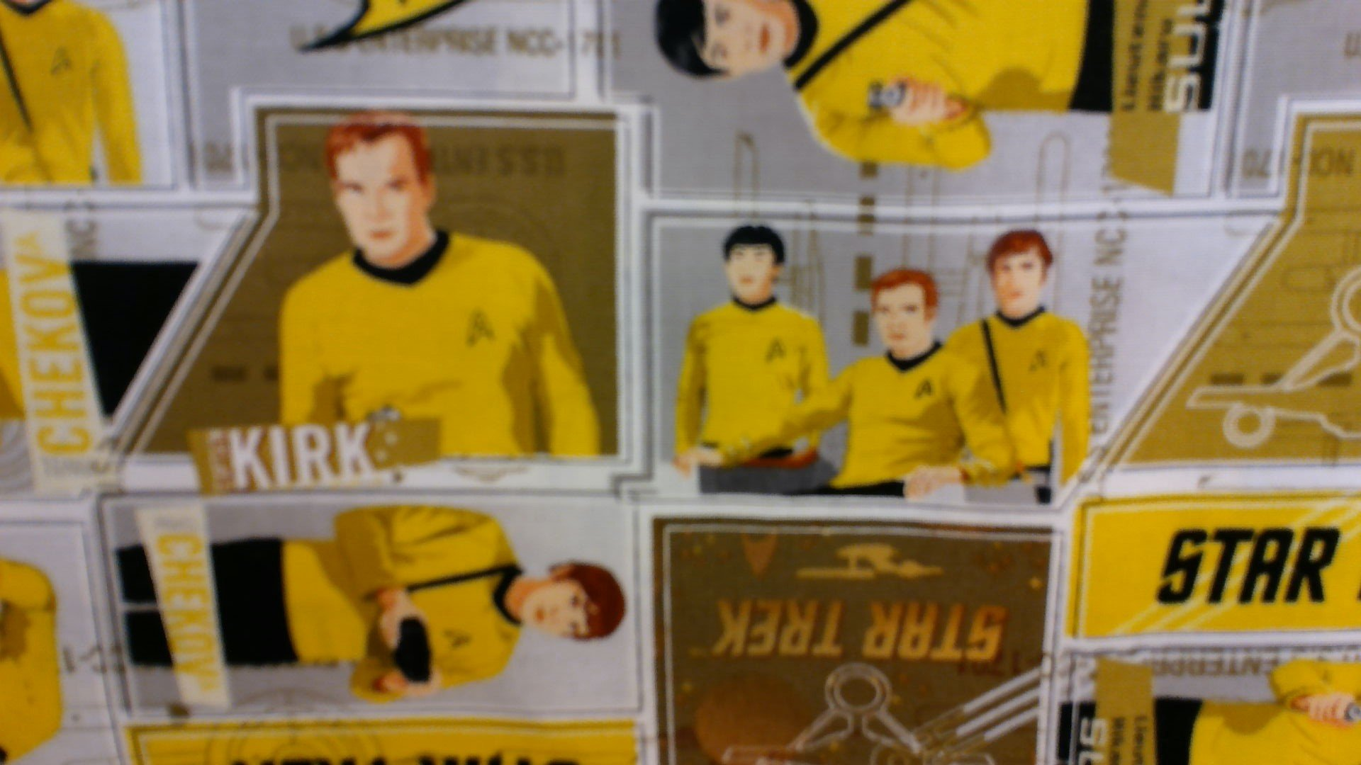 Star Trek - Yellow Uniform 63100203-1