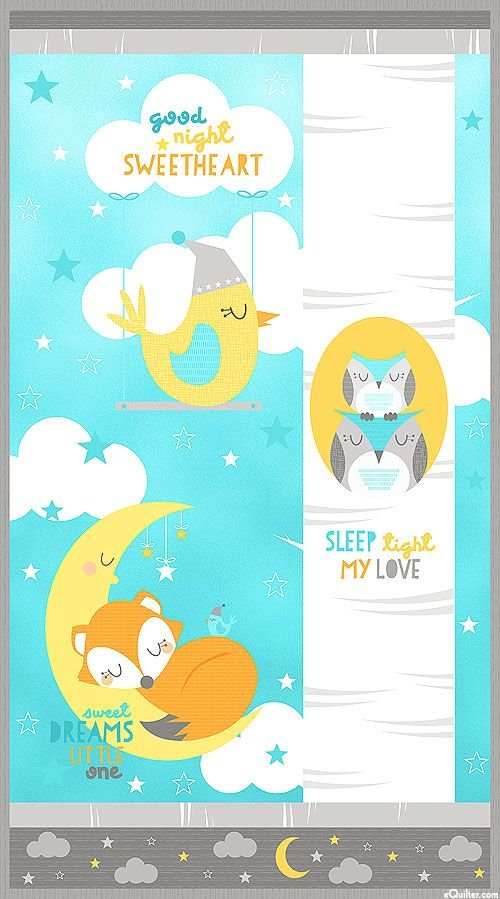 Sweet Dreams Crib Panel