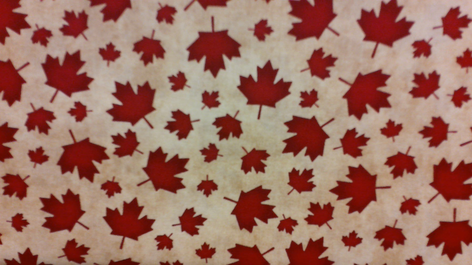 The Way Home to Canada - beige - Fat Quarter