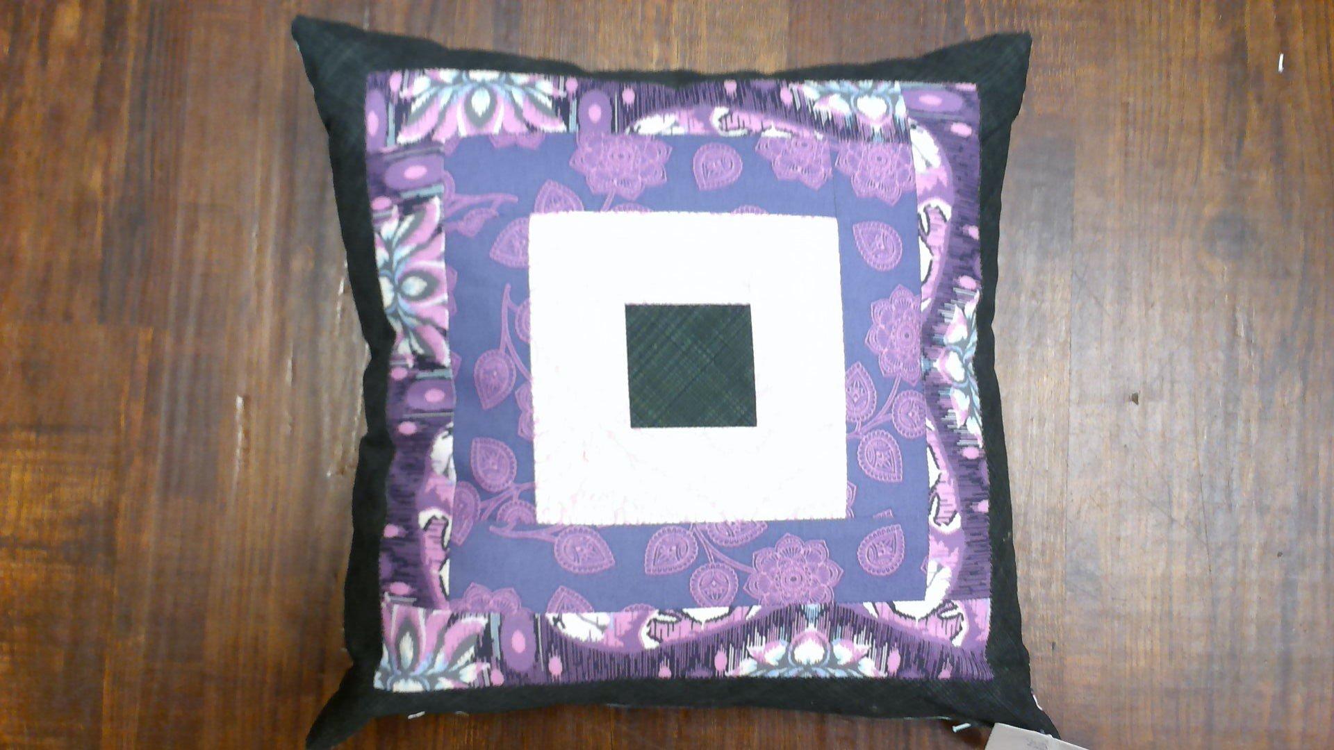 Tula Pink Pillow - Mauves