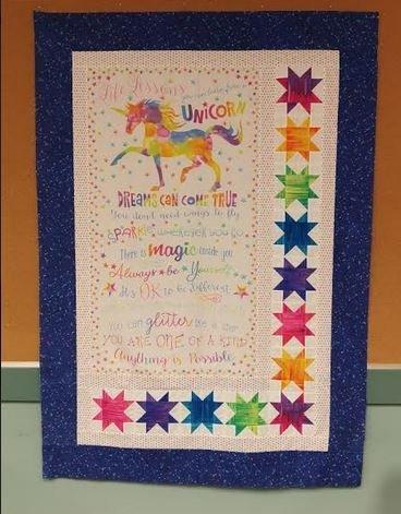 Unicorn Life Lessons Quilt Kit