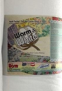90 Warm and White Batting