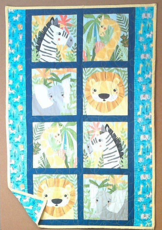 Safari Baby Quilt