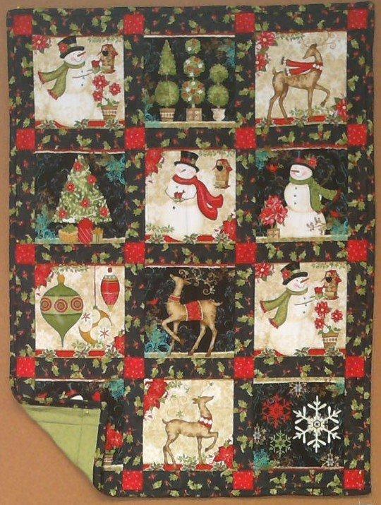 Christmas Squares Quilt