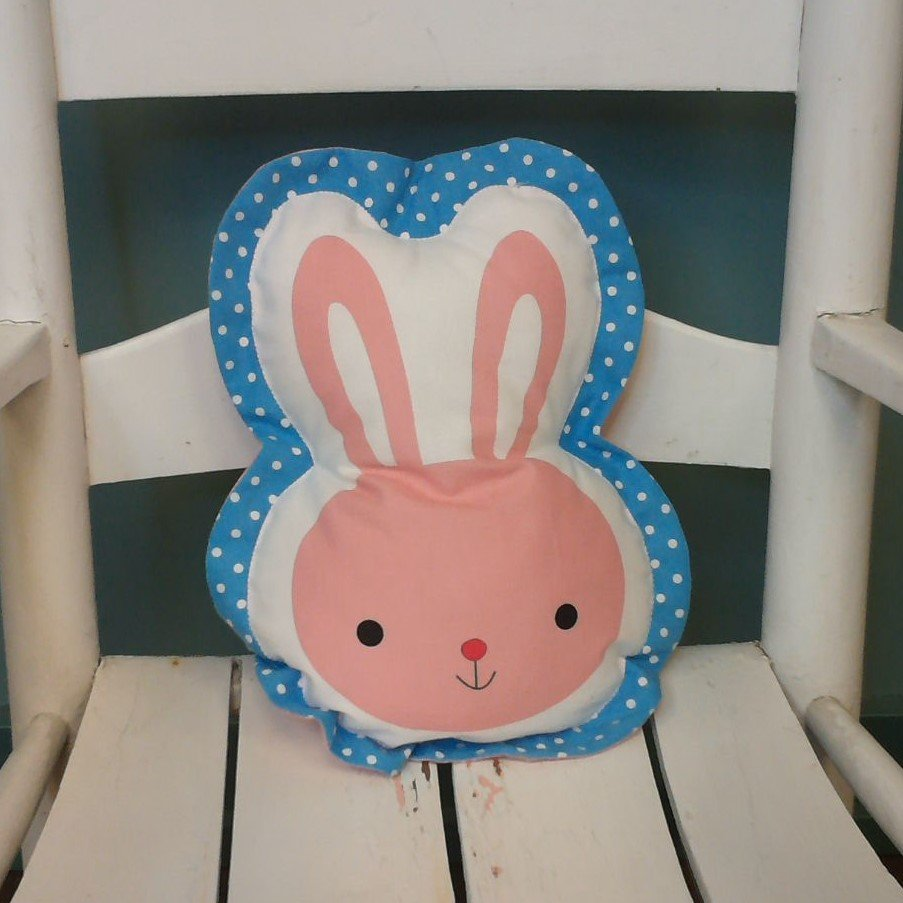 Bunny Shaped Pillow