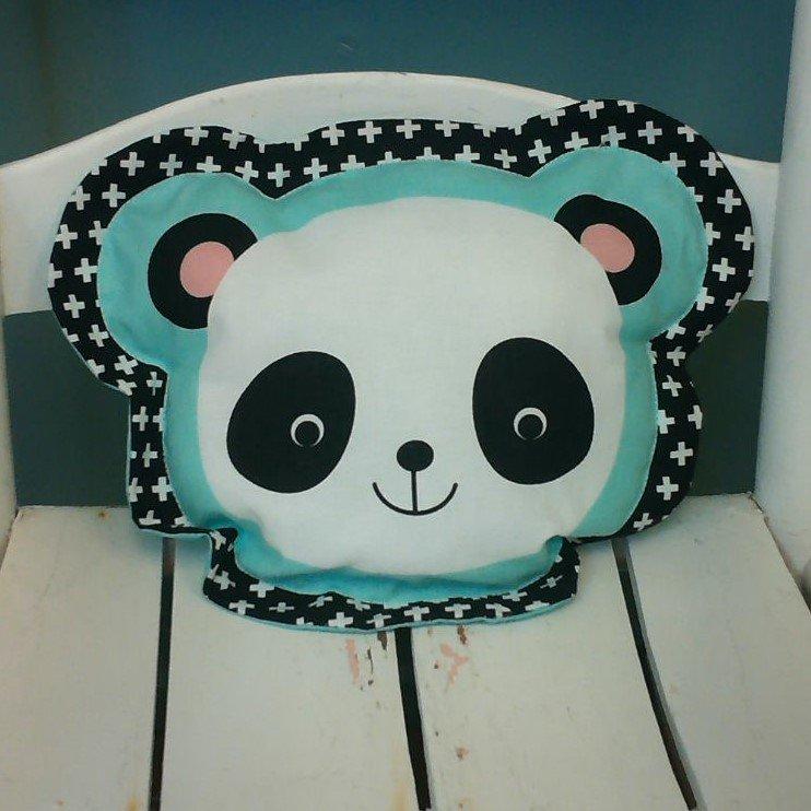 Panda Bear Shaped Pillow
