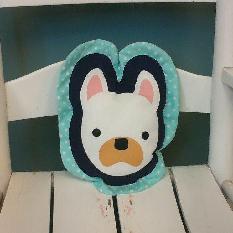 Dog Shaped Pillow