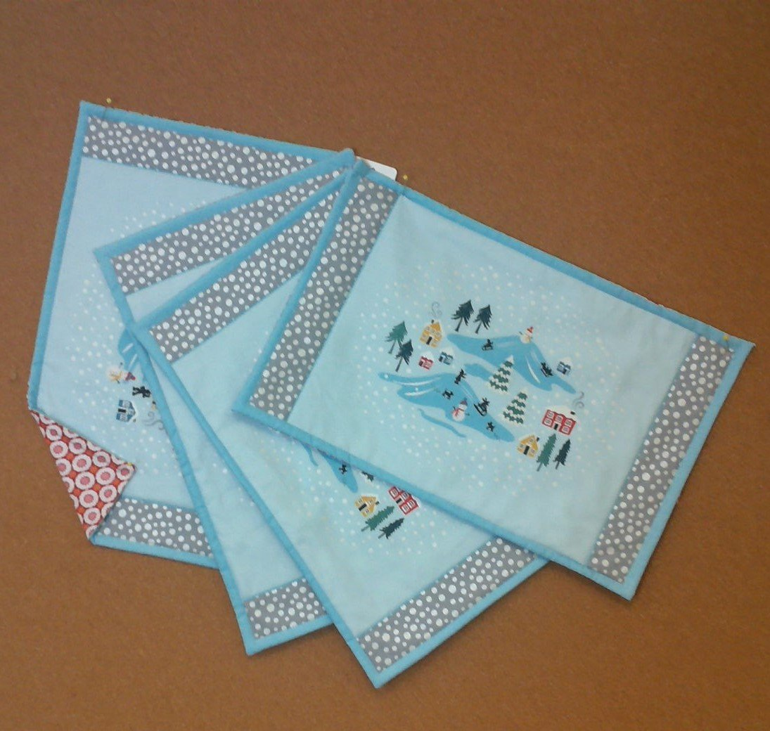 Snow Day Placemats - 4 pieces