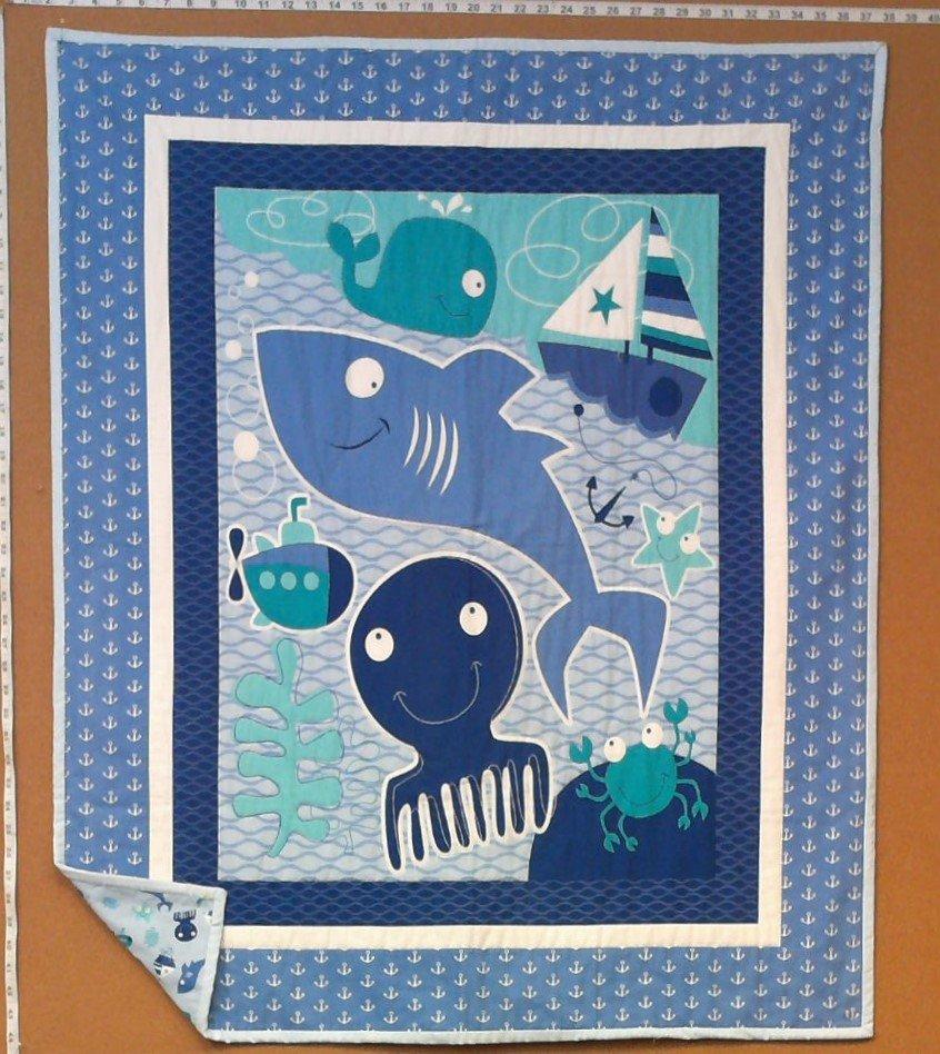Ocean Baby Quilt