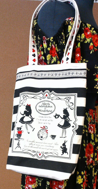 Alice in Wonderland Bag