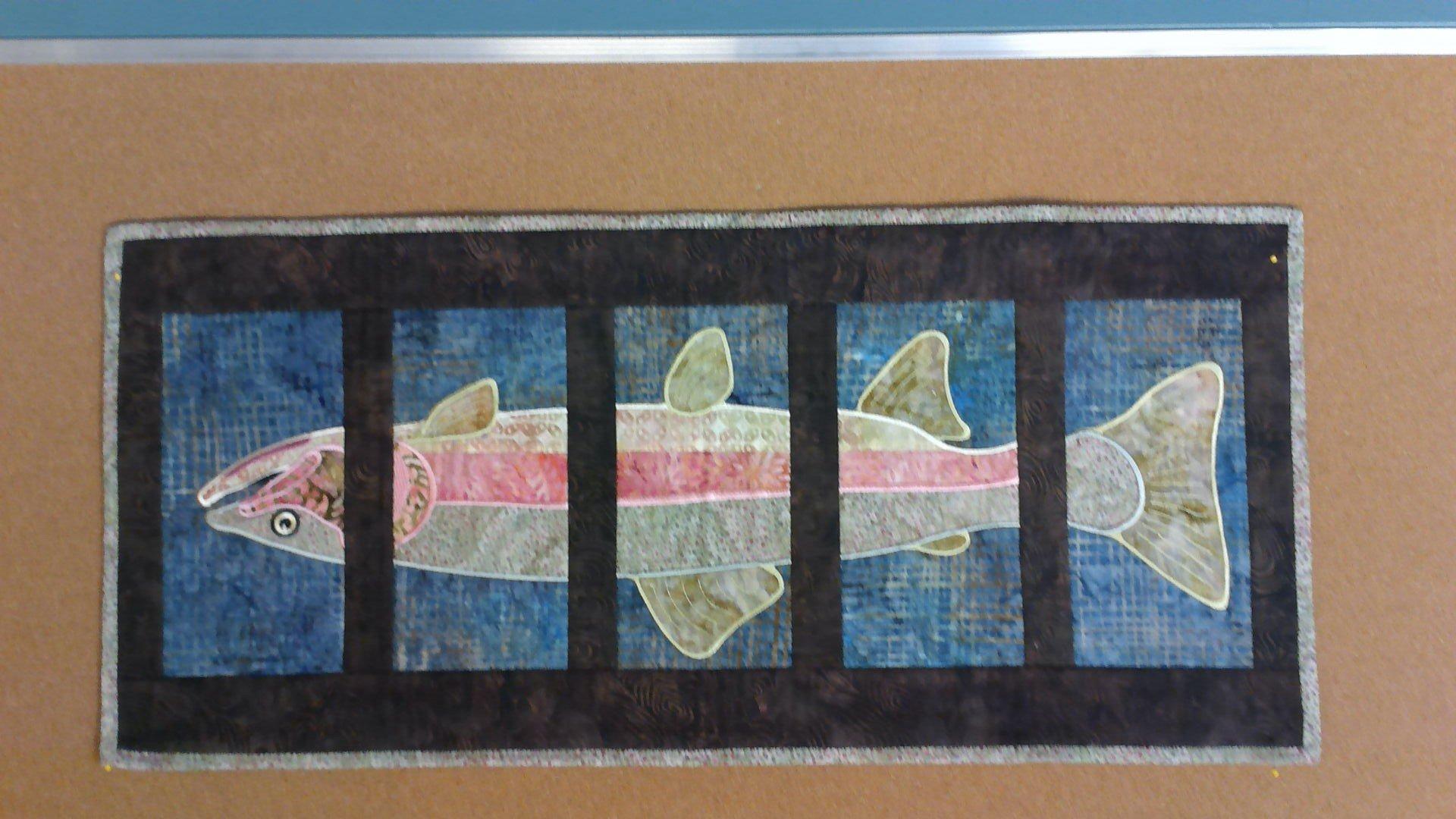 Salmon Wallhanging  2