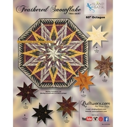 Quiltworx Judy Niemeyer Feathered Snowflake Tree Skirt
