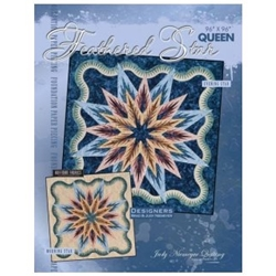 Quiltworx Judy Niemeyer Feathered Star Queen