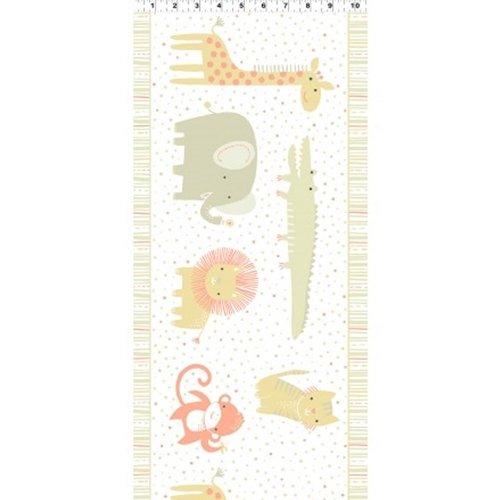 Clothworks Safari Sweet II Organic Y2068 12