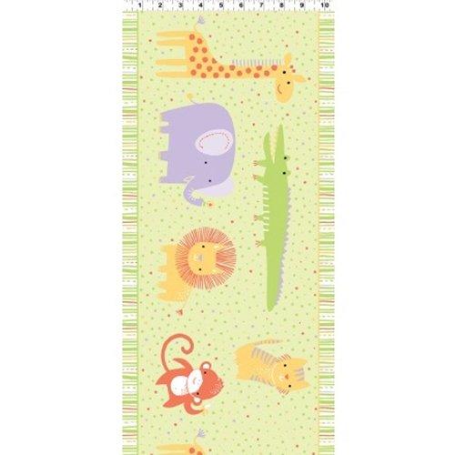Clothworks Safari Sweet II Organic Y2068 17