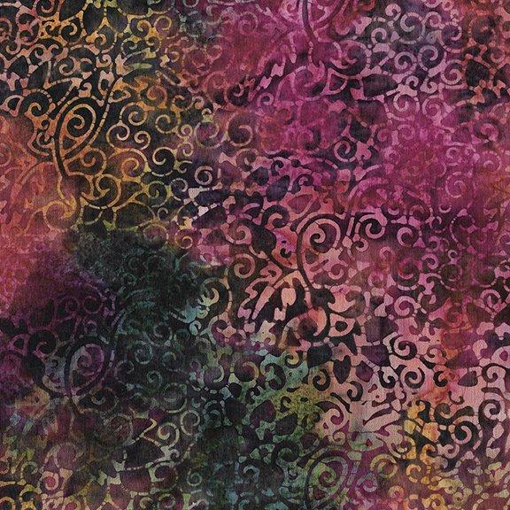 Island Batik Sunset Plumes 112025900