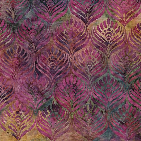Island Batik Sunset Plumes 112030901