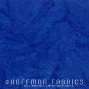 Hoffman Bali Hand-dyed Watercolors 1895 17 Cobalt