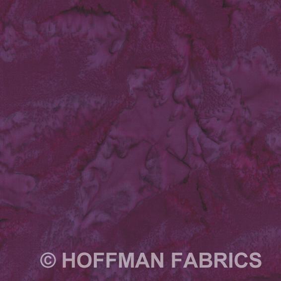 Hoffman Bali Hand-dyed Watercolors 1895-423 Marsala