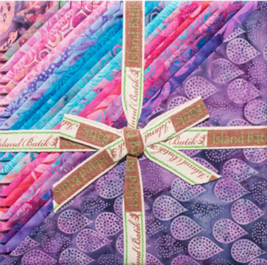 Island Batik All A Flutter 10 Squares