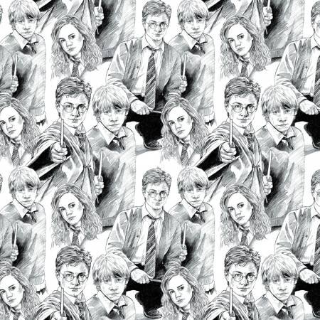 Harry Potter White Line Art 2380015-1