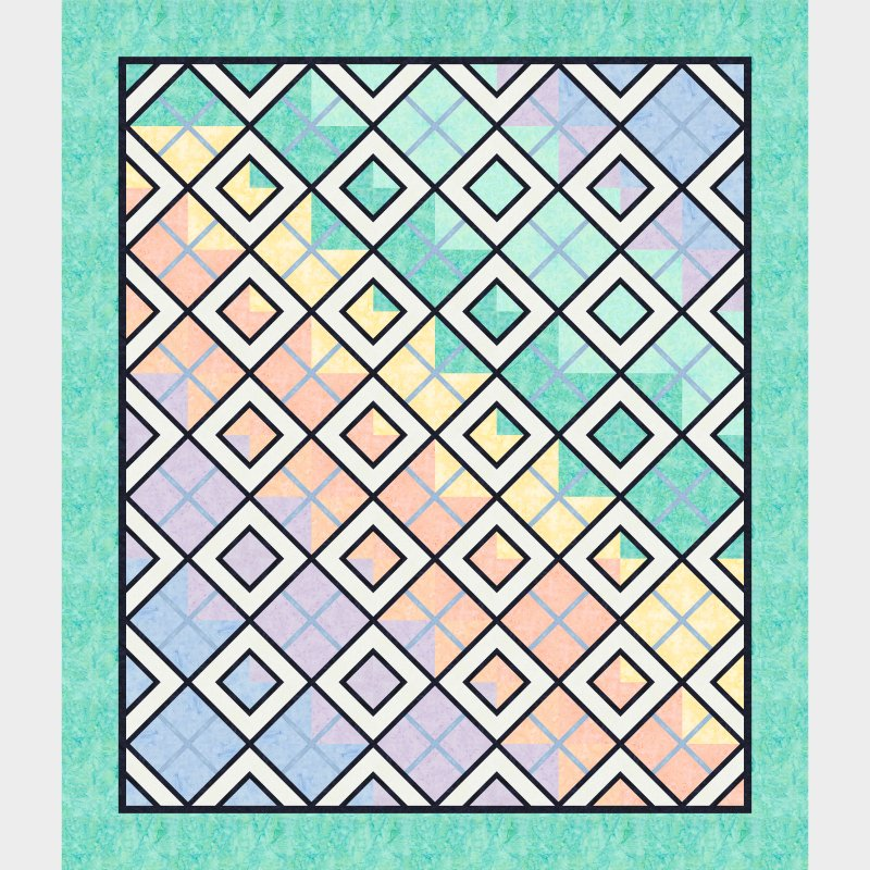 Quiltworx Color Spectrum Quilt Kit